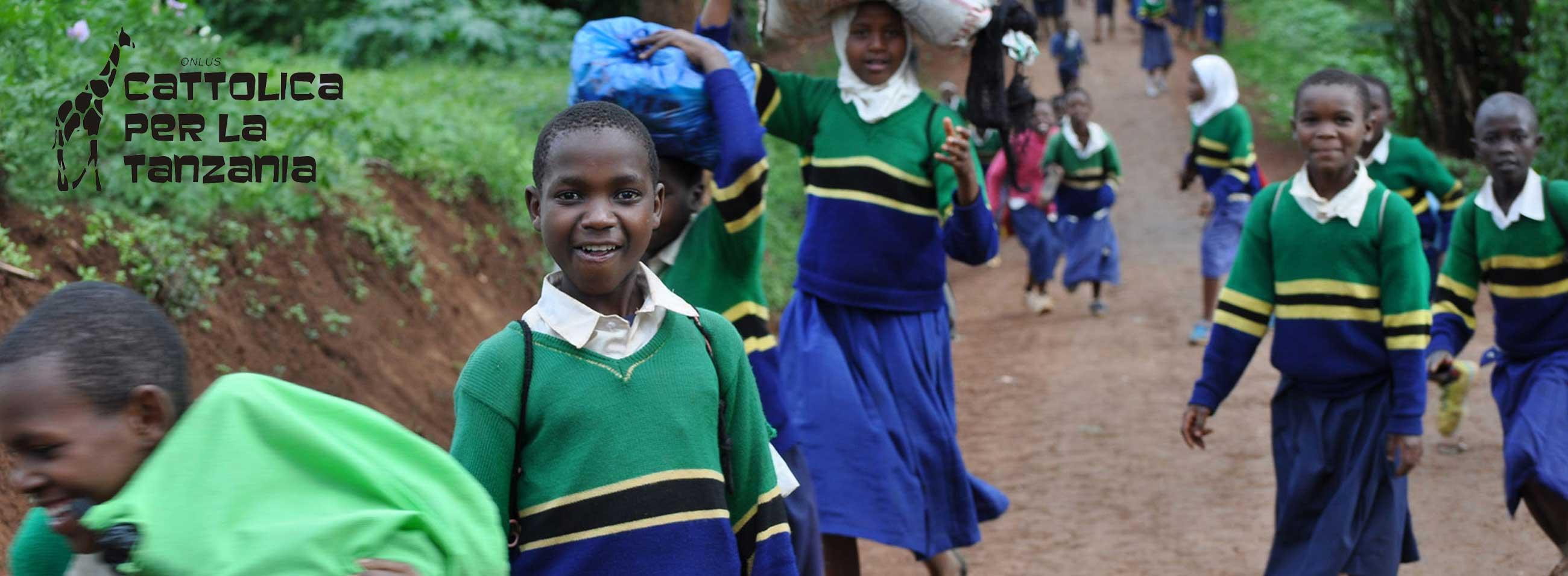 La scuola di Cattolica per la Tanzania
