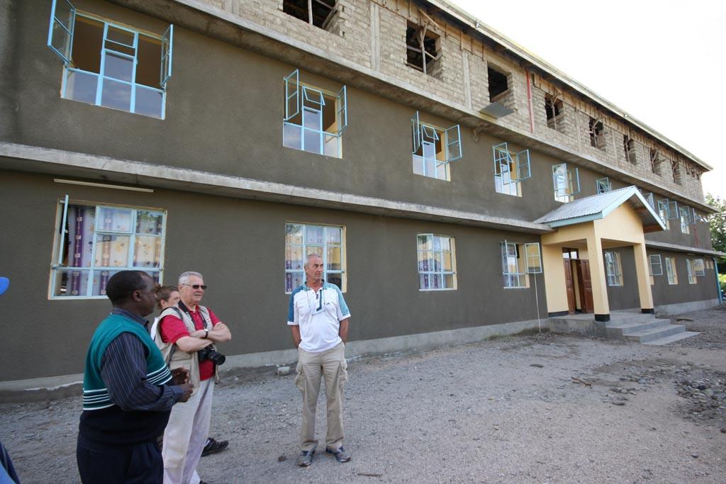 2014-05: terminato secondo dormitorio femminile