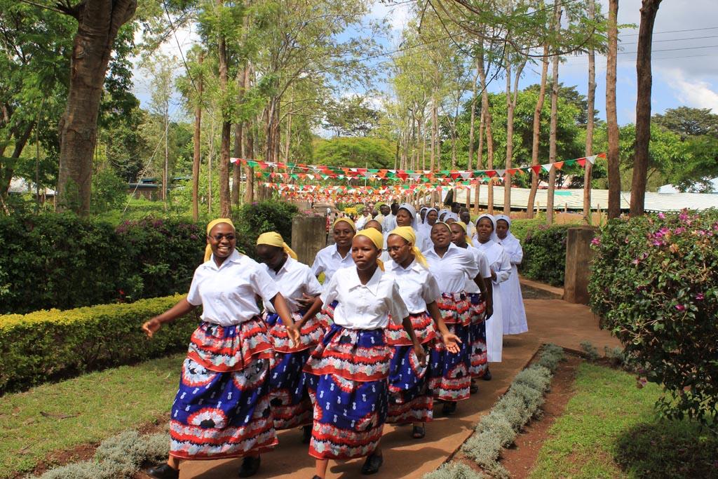 2010-12/2015-12 Rahuia: feste del giubileo di alcune Sorelle