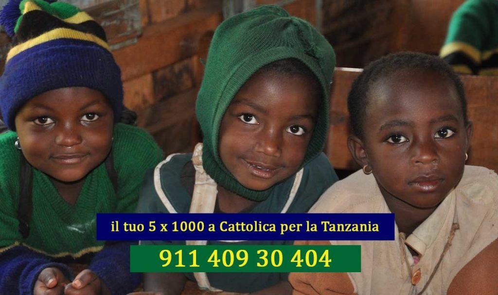 5 x mille Cattolica per la Tanzania