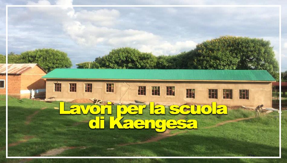 Nuovo edificio per la scuola di Kaengesa